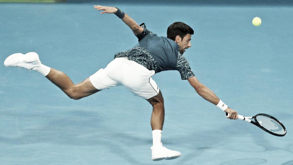 Djokovic vira contra Basilashvili e está nas semis do ATP 250 de Doha