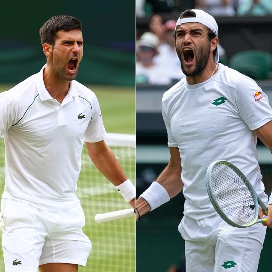 Summary and highlights of Novak Djokovic 3-1 Matteo Berrentini
