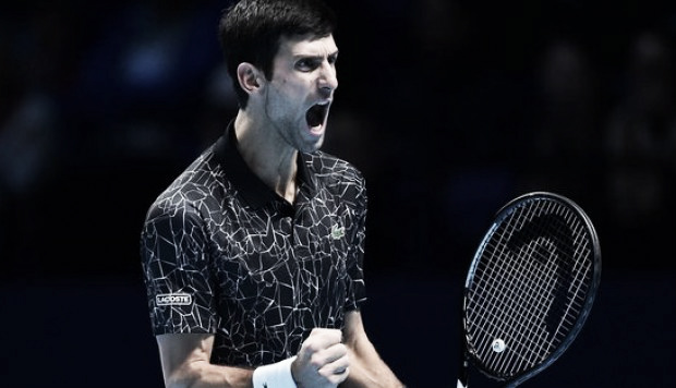 Djokovic se llevó el duelo frente a Zverev en Londres