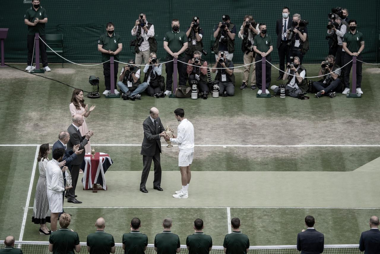 Djokovic y Berrettini valoran su participación en Wimbledon
