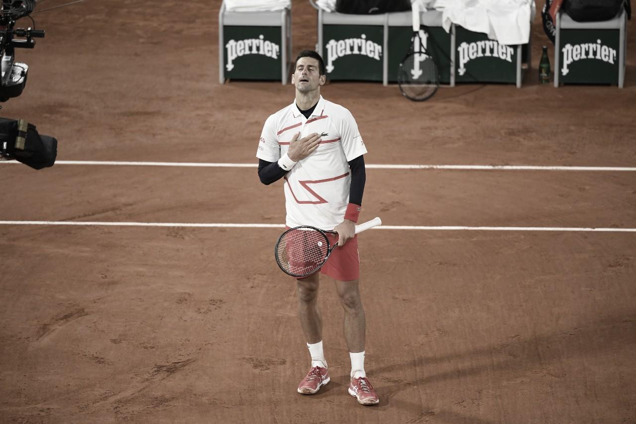 No reencontro após desqualificação no US Open, Djokovic bate Carreño Busta em Paris
