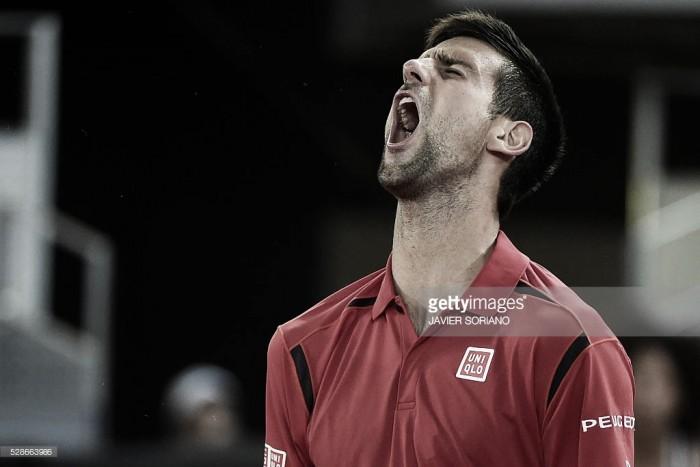 Djokovic alcanza su segunda final en Madrid