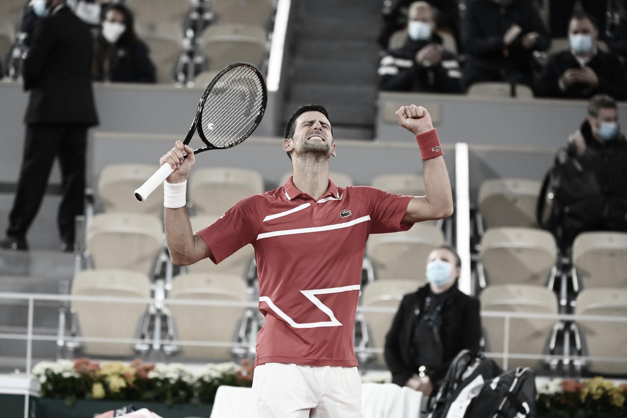 Djokovic vence Khachanov e segue sem perder sets em Roland Garros