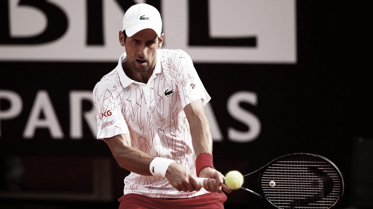 Djokovic se complica, mas vence Koepfer e avança às semis do Masters 1000 de Roma