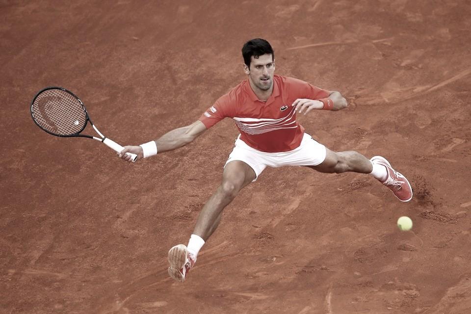 Djokovic vence sete últimos games e passa fácil por Kohlschreiber rumo às quartas em Roma