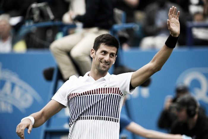 ATP Eastbourne: Novak Djokovic needs two days to get his Aegon International campaign up and running
