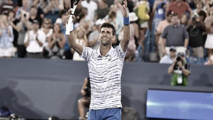 Djokovic bate Pouille e segue na busca pelo bicampeonato em Cincinnati