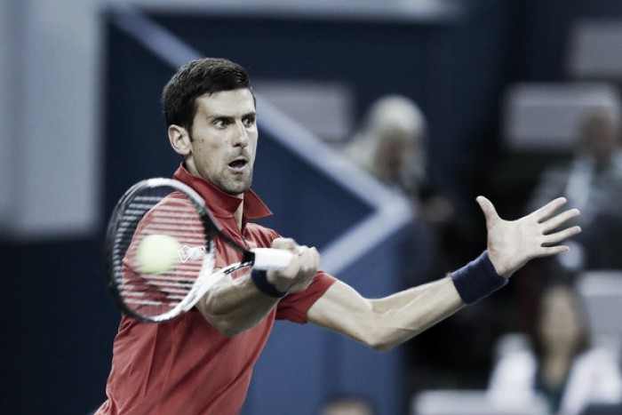 ATP Shanghai: Novak Djokovic survives scare to reach semifinals