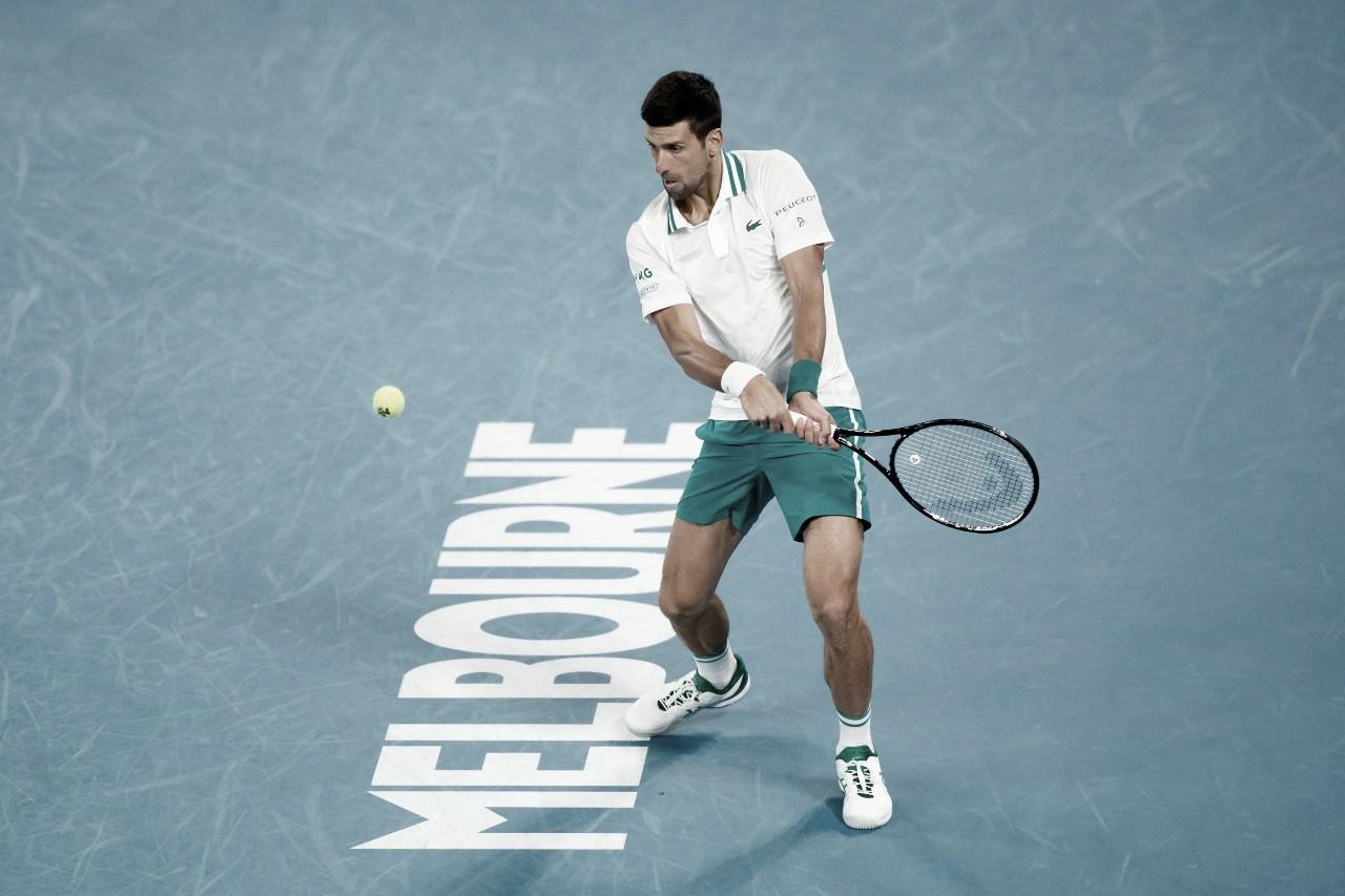 Djokovic confirma retrospecto e supera Raonic no Australian Open