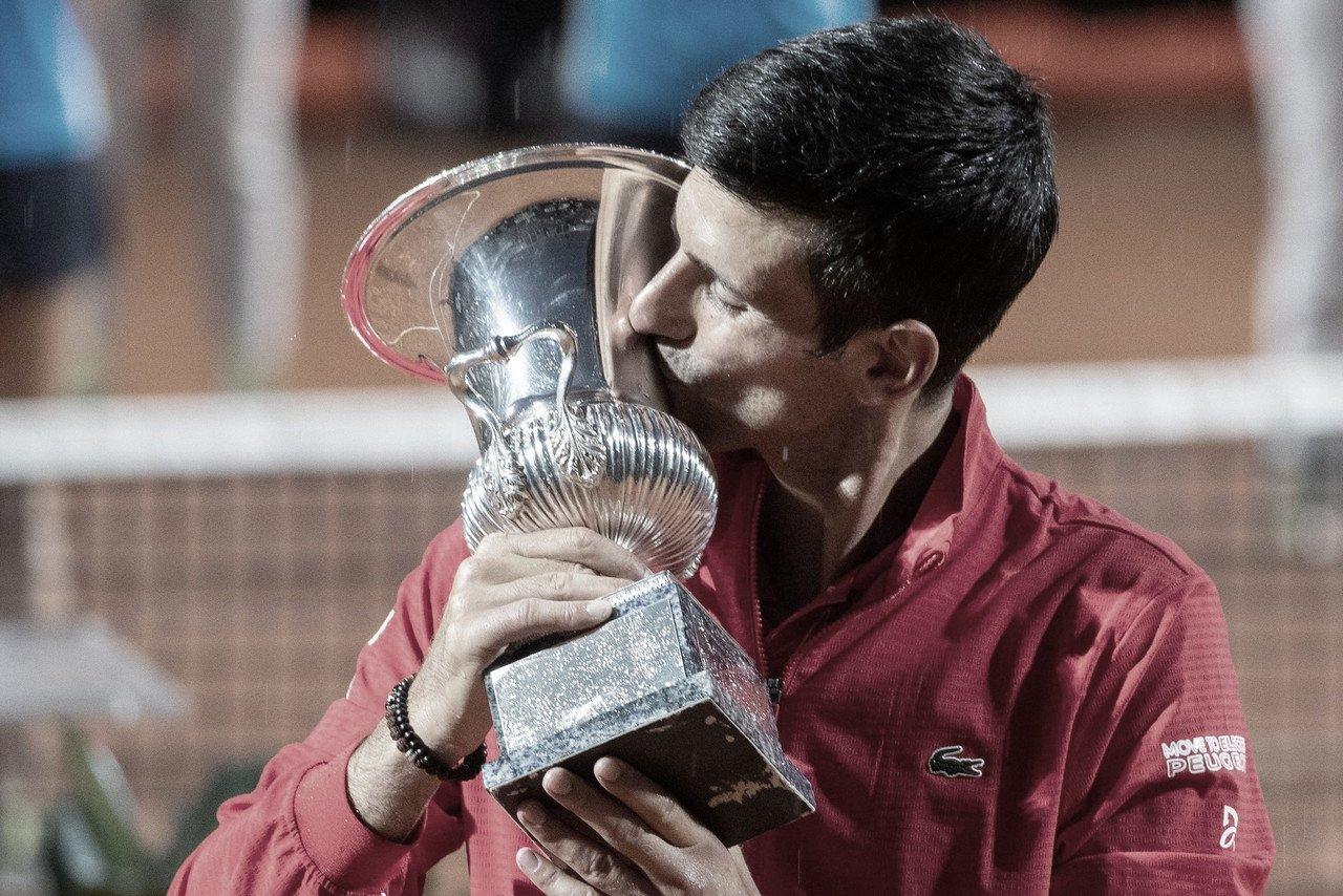 Djokovic vence Schwartzman em Roma e se isola como maior vencedor de Masters 1000