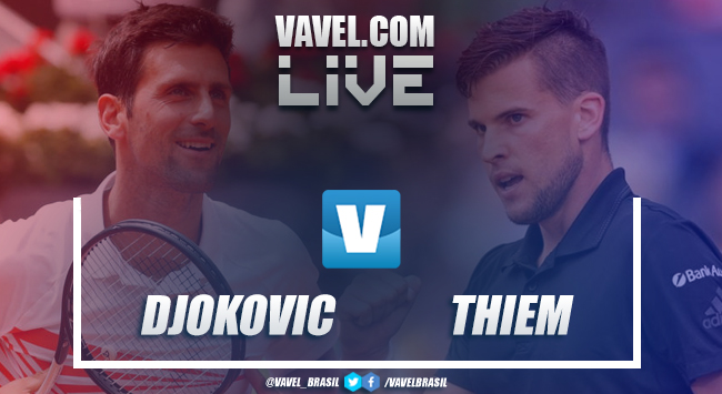 Djokovic vence Thiem na semifinal do Masters 1000 de Madrid 2019 (2-0)