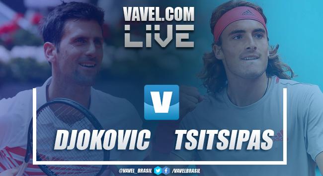 Djokovic vence Tsitsipas na final do Masters 1000 de Madrid 2019 (2-0)
