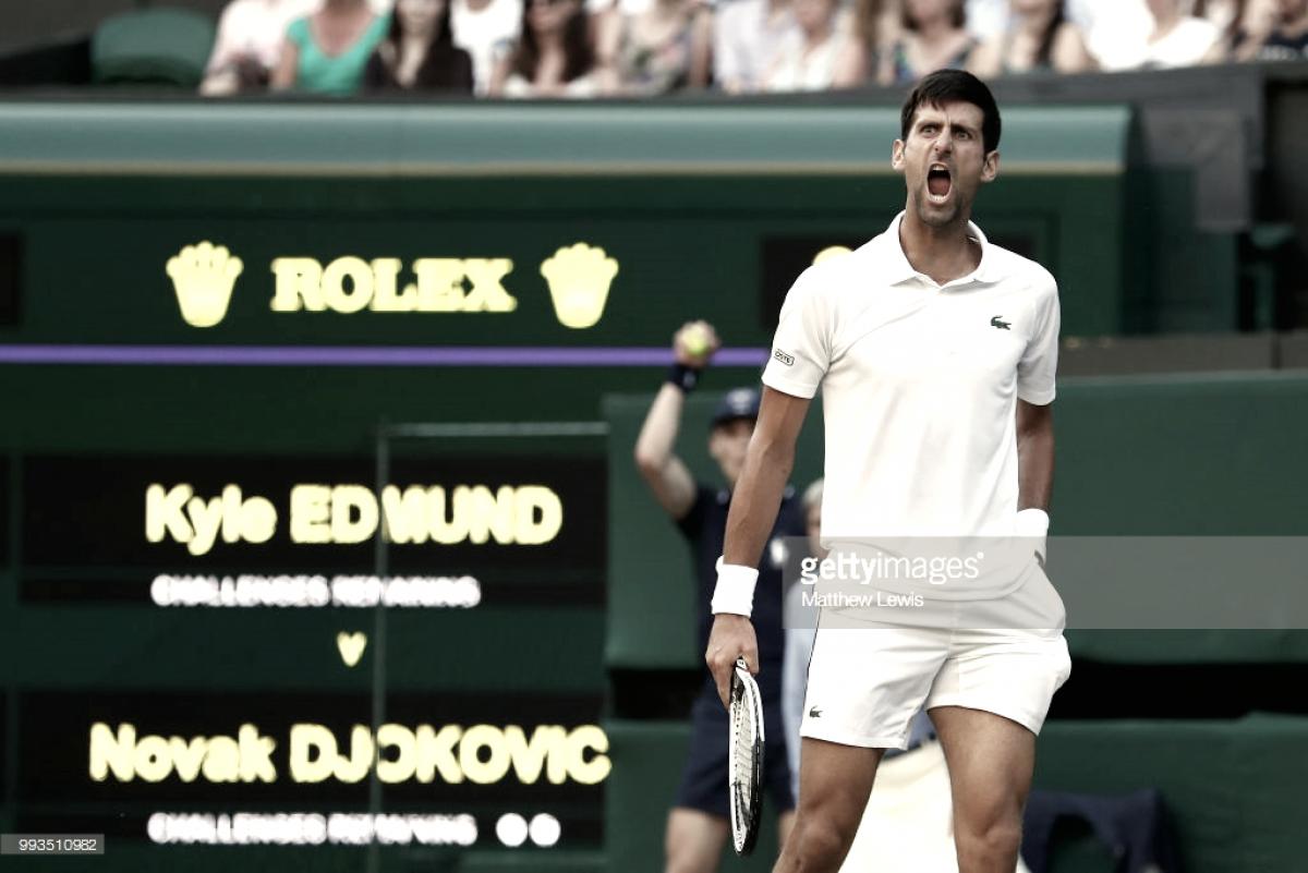 """Novak Djokovic: """"El ambiente ha sido propio de la Copa Davis"""""""