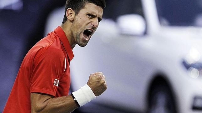 Djokovic se corona en Shanghái