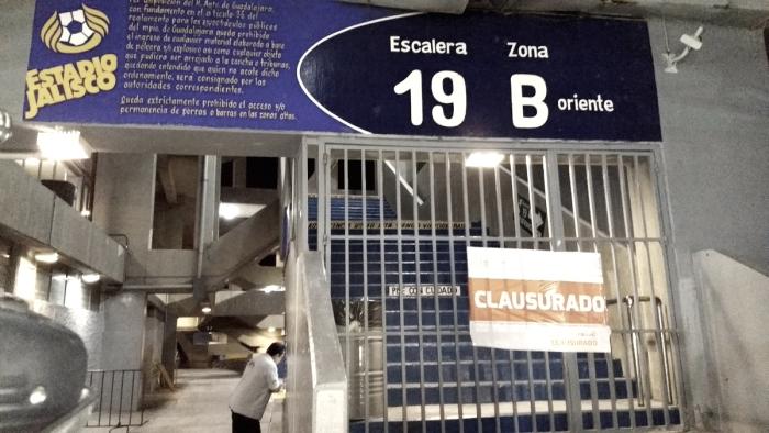Estadio Jalisco, clausurado por la pantalla de 360°