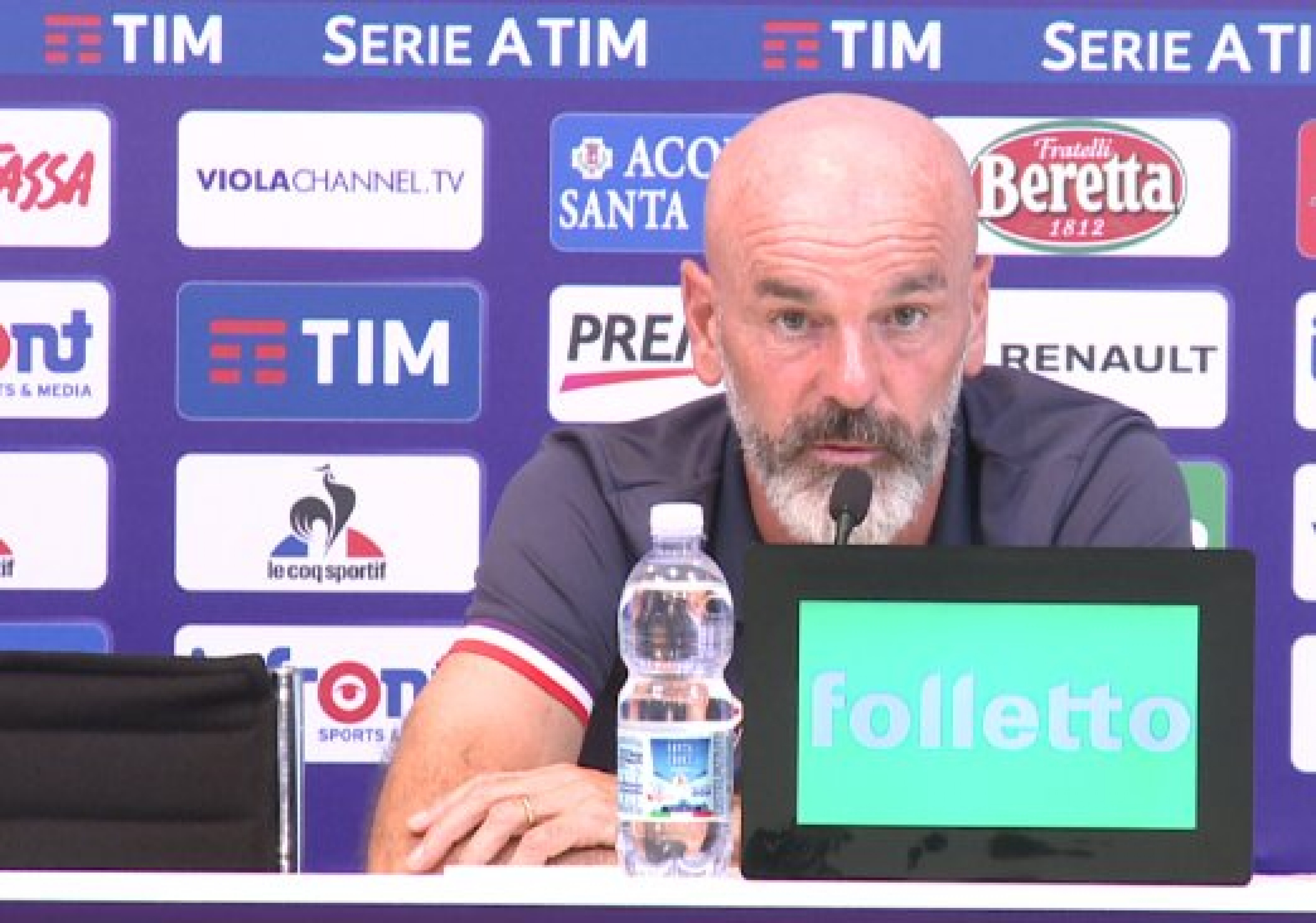 Napoli - Fiorentina, la conferenza stampa di Pioli: vincere al San Paolo e possibilità di vedere Pjaça dal primo minuto
