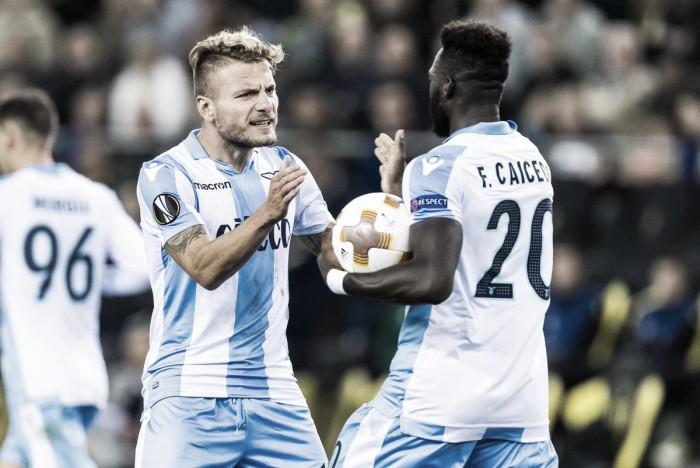 La Lazio arranca con buen pie en Europa