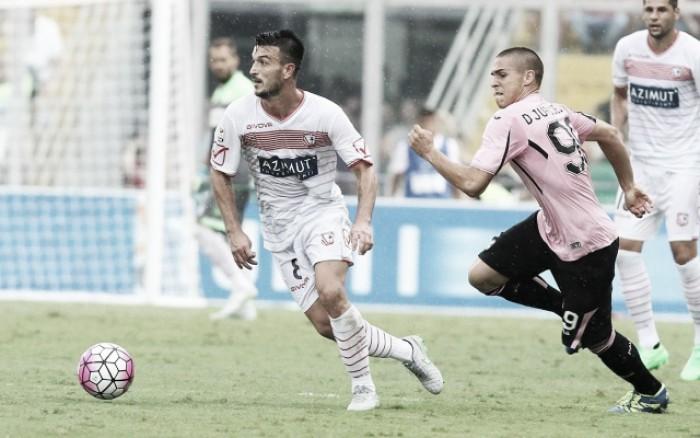 Carpi - Palermo in Serie A 2015/16 (1-1)