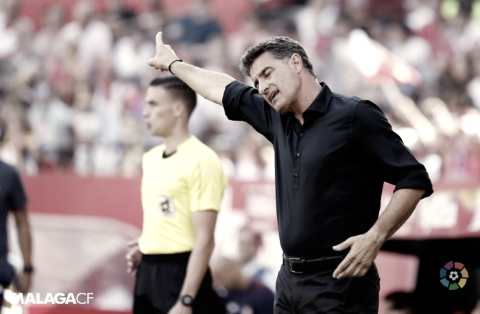 """Michel: """"Los dos goles nos han hecho daño"""""""