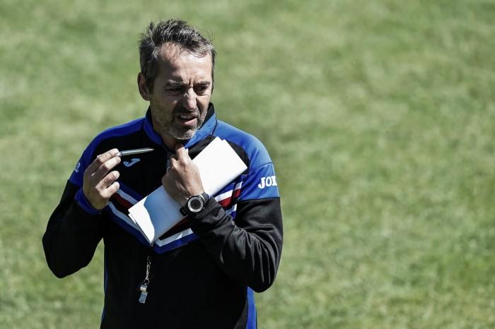 """Sampdoria, Giampaolo: """"Match con l'Udinese è un'occasione. Dobbiamo fare il salto di qualità"""""""
