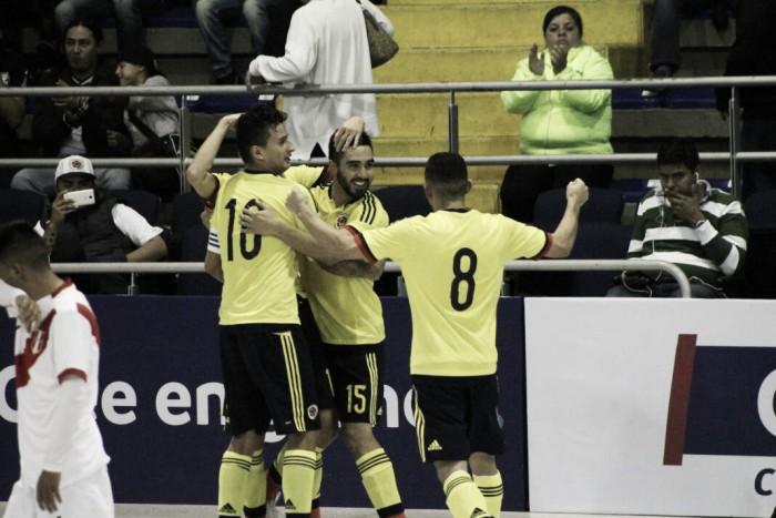 Colombia y Brasil definen el título de la Liga Sudamericana de futsal en la Zona Norte