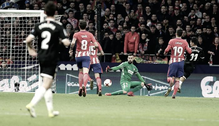 La defensa, condena del Atlético