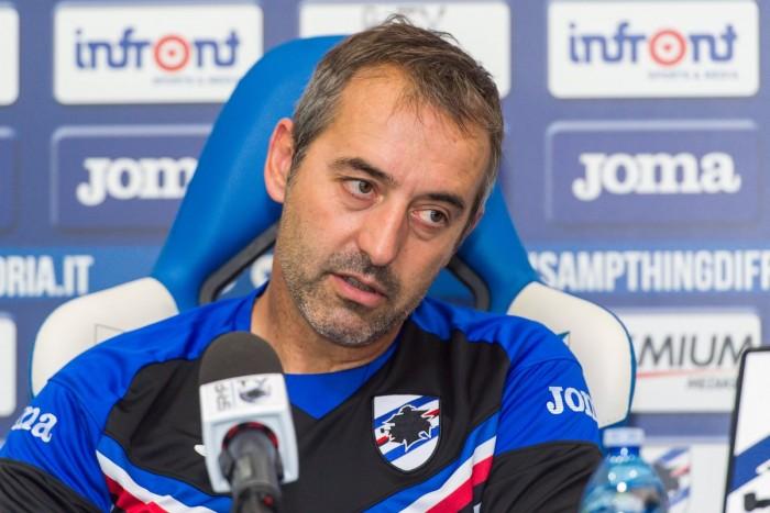 Giampaolo presenta Samp-Milan: