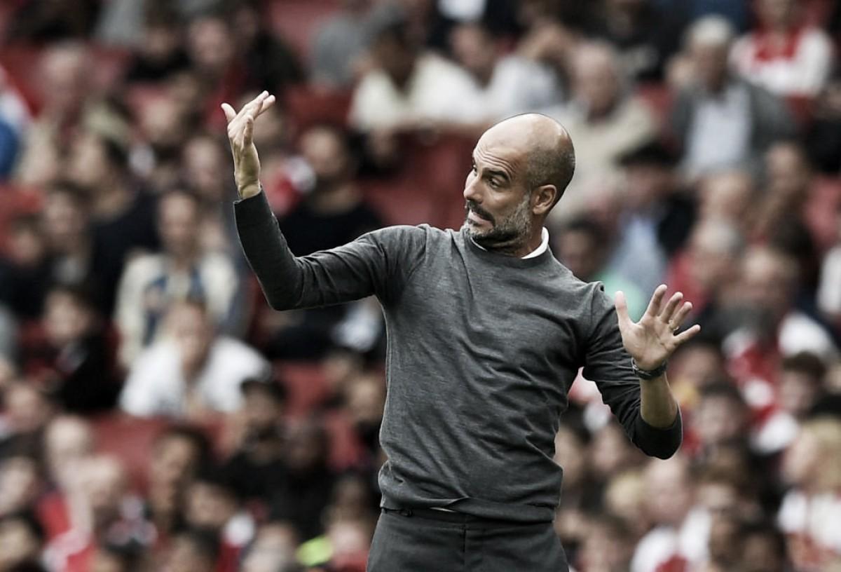 """Guardiola exalta City em primeira vitória na Premier League: """"Jogamos em alto nível"""""""