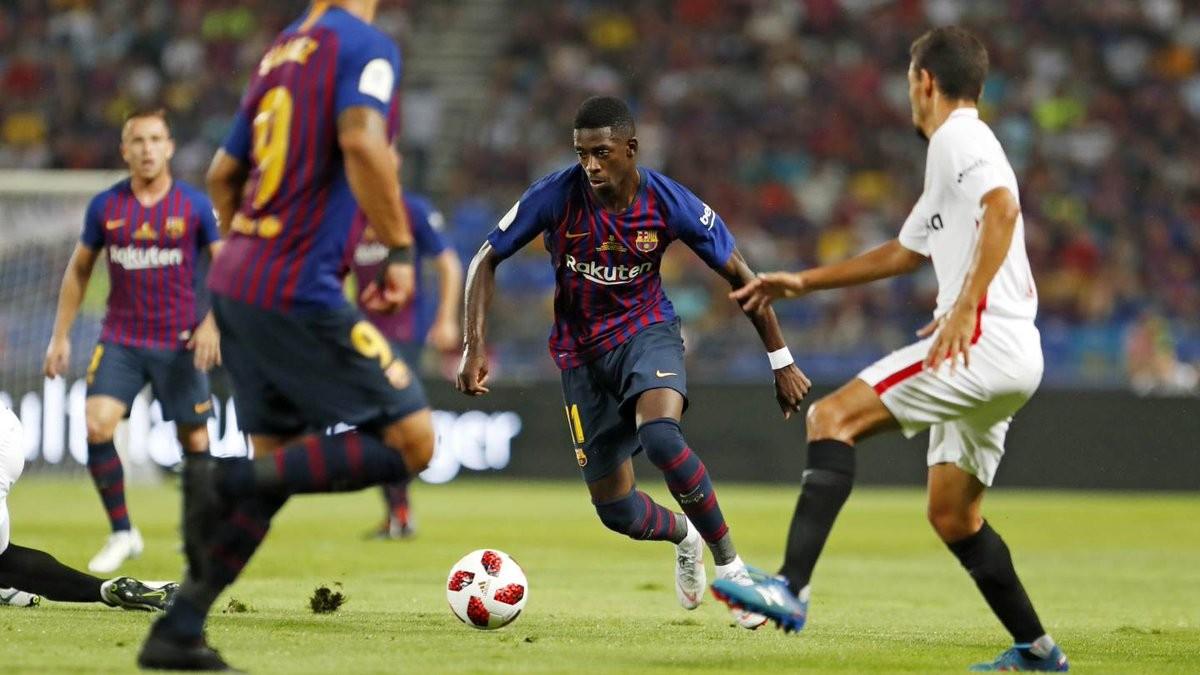 Supercoppa spagnola - Vince il Barcellona: battuto 2-1 il Siviglia