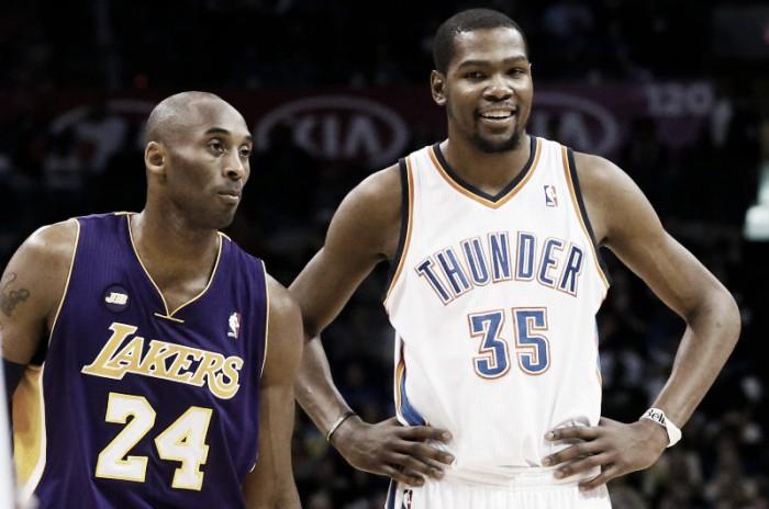 Kevin Durant también se rinde a Kobe Bryant