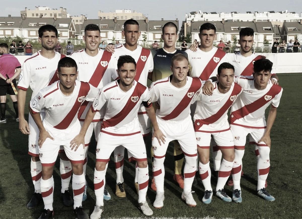 El Rayo B a un paso de la final de la Copa RFFM