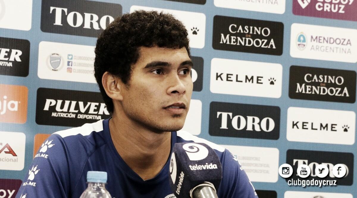 """Osmar Leguizamón: """"Quería venir a jugar a Mendoza"""""""