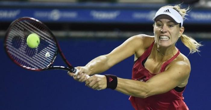 WTA Tokyo - Volano Muguruza e Pliskova, sussulto Kerber