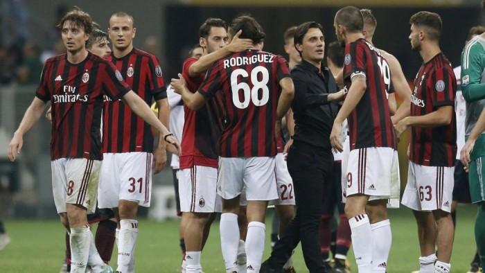 Milan-Rijeka 3-2: Cutrone salva il Milan e Montella