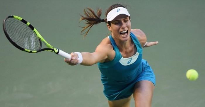 WTA Tokyo - Cibulkova da corsa, fuori la Konta