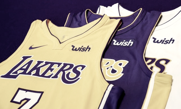 Lakers acerta segundo maior contrato de patrocínio e NBA terá 16 equipes com marca na camisa