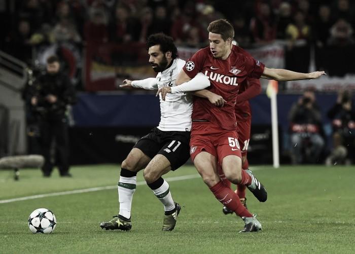 Il Liverpool spreca l'inverosimile: contro lo Spartak finisce con un freddo 1-1