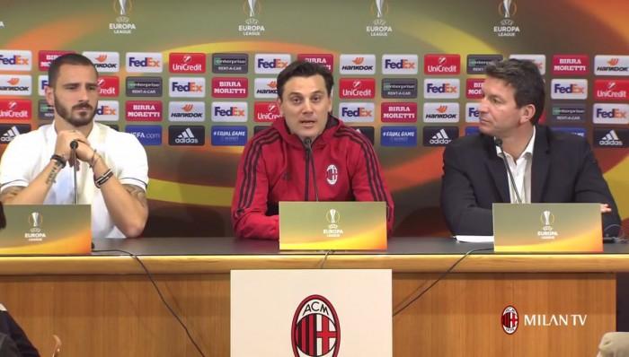 """Milan, Montella in conferenza: """"Non bisogna avere alibi, cercare le vittorie con fame e sacrificio"""""""