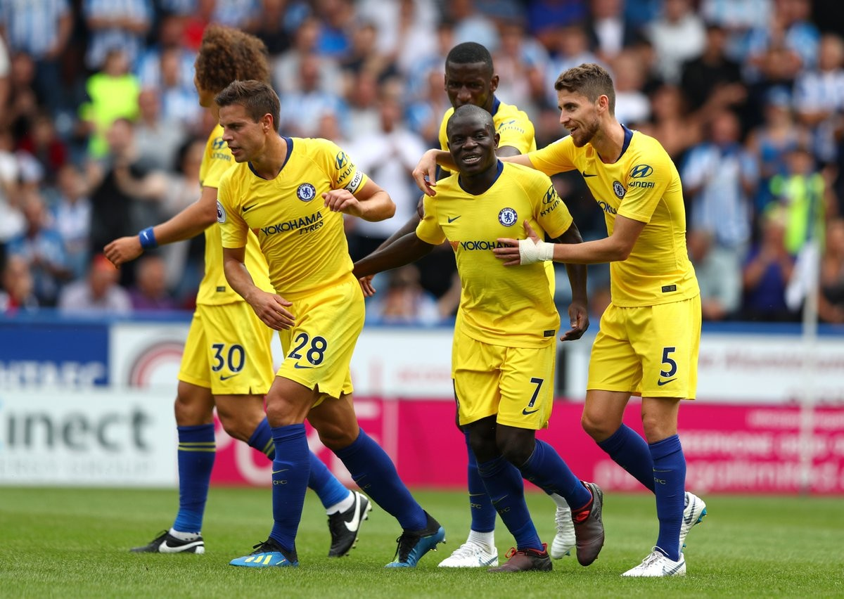 Chelsea, tre gol e tre punti all'esordio. Le parole di Sarri e Kantè nel post-partita