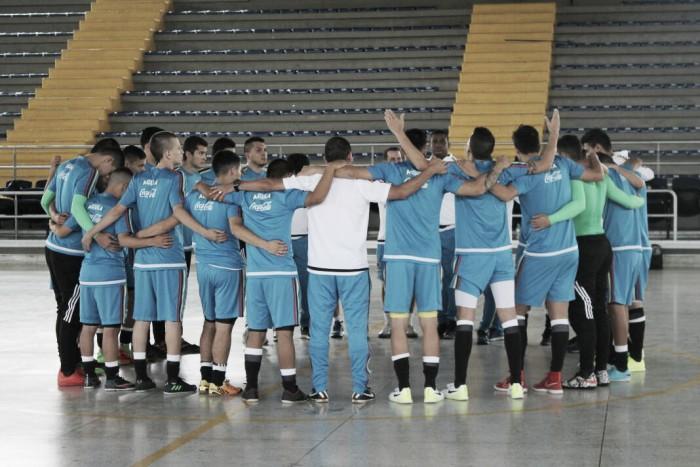 La Selección Colombia comienza su participación en la Liga Sudamericana de Futsal