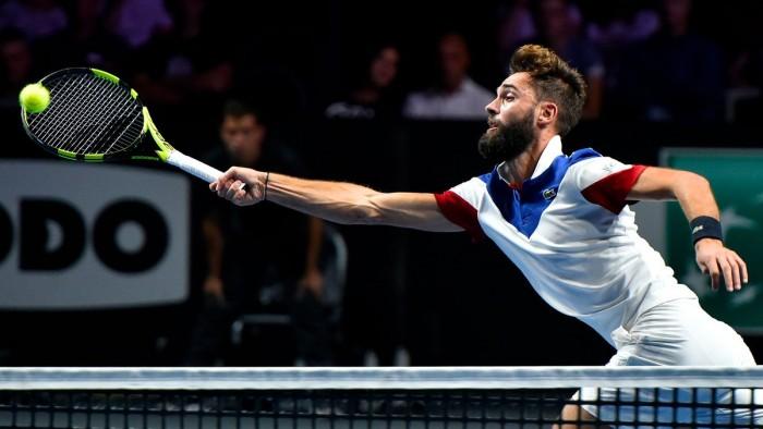 ATP Metz - Paire piega Goffin, oggi le semifinali