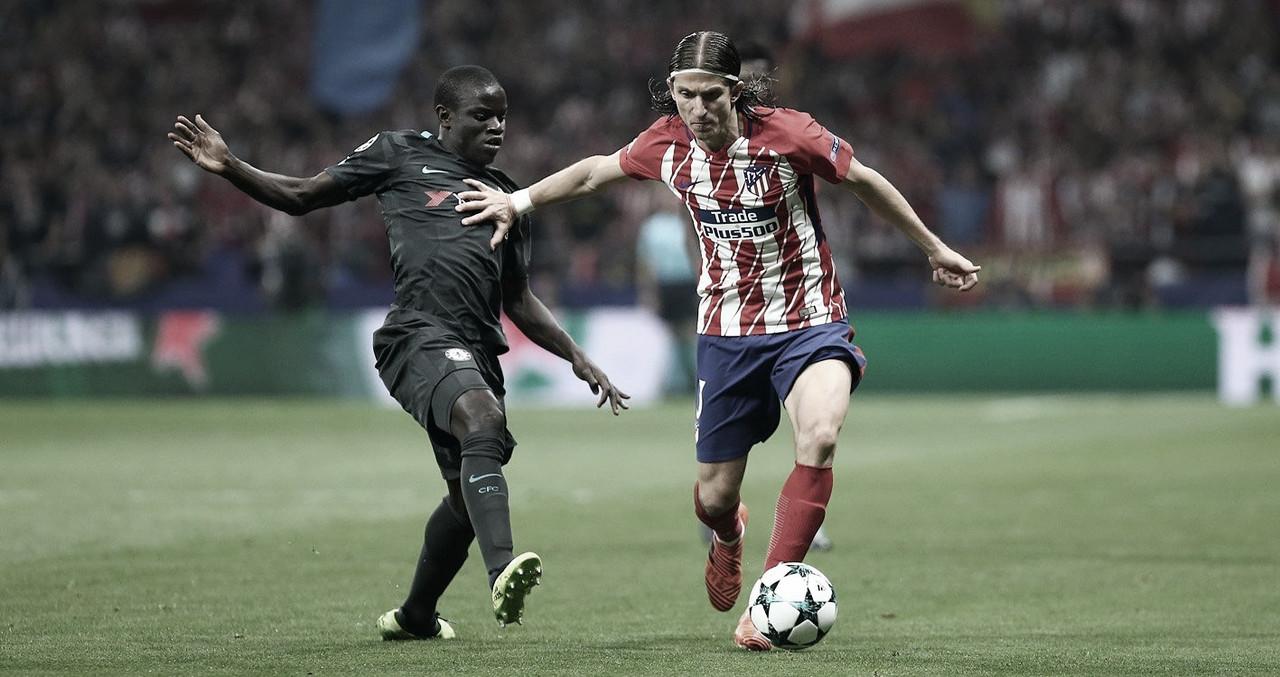 Resumen del Atlético de Madrid vs Chelsea por los octavos de final de la UEFA Champions League (0-1)