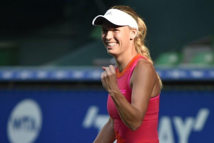 WTA Tokyo - Wozniacki travolge Muguruza, finale con Pavlyuchenkova