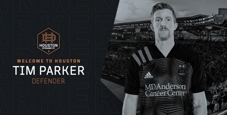 Tim Parker refuerza a Houston Dynamo FC