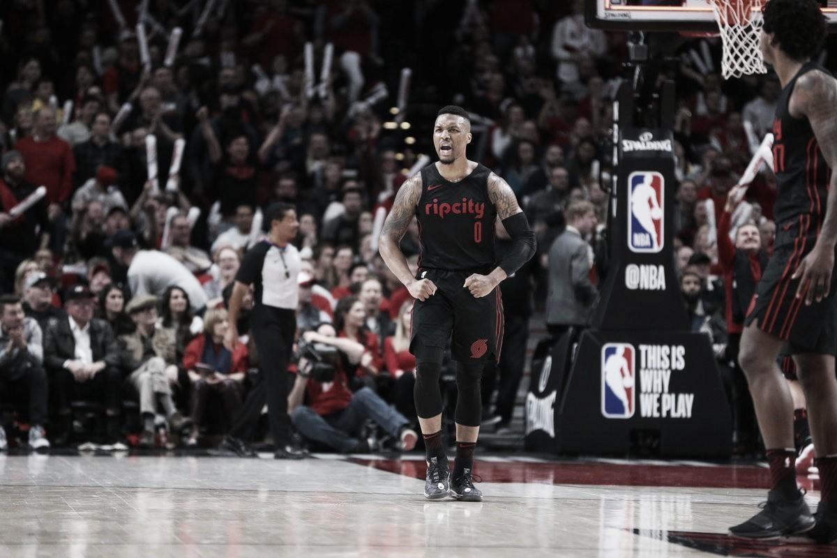 NBA, Portland batte i Jazz e chiude terza a Ovest (102-93)