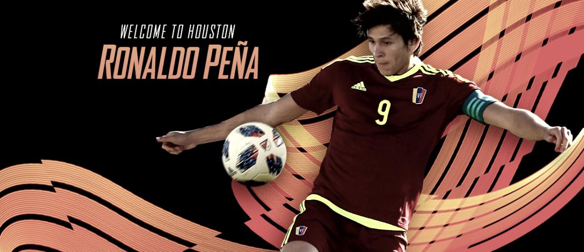 Ronaldo Peña firma por Houston Dynamo