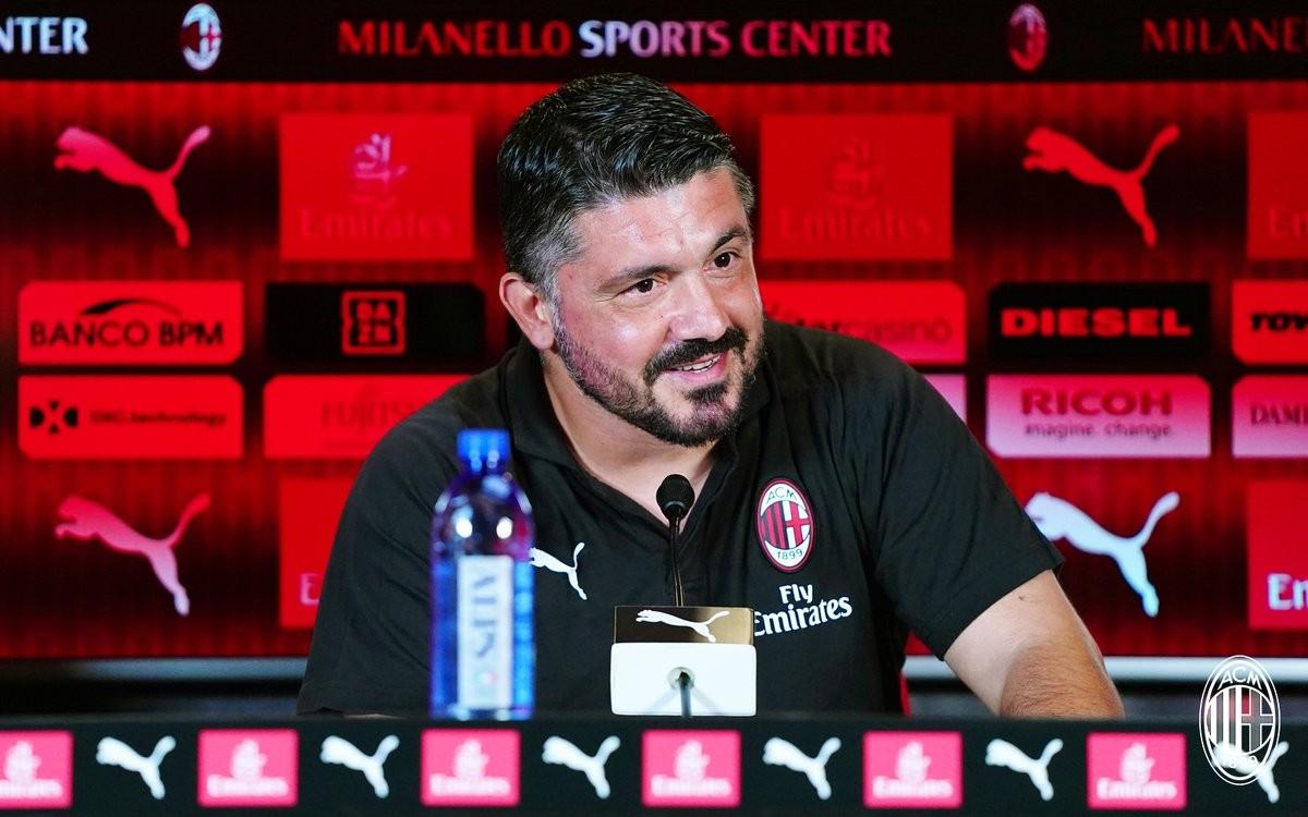 Verso Milan - Roma, la conferenza stampa di Gattuso