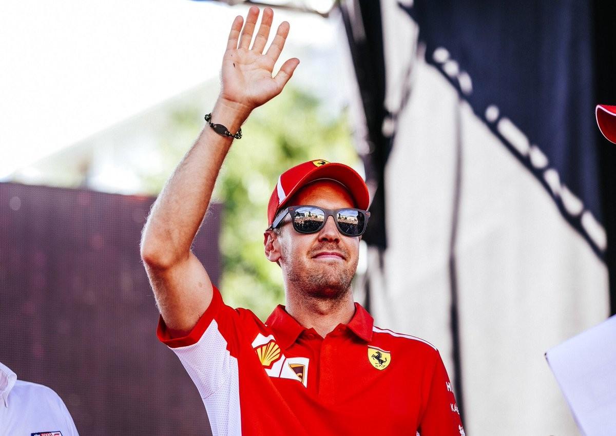 """F1, Gran Premio d'Italia - Vettel: """"Che atmosfera! Non vedo l'ora di scendere in pista"""""""