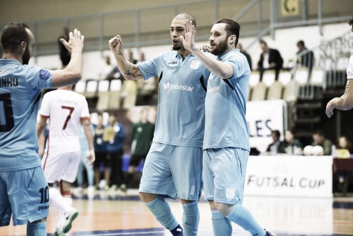 Inter y Barça se estrenan de dulce en la UEFA Futsal Cup