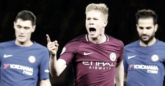 Kevin De Bruyne olvida al Chelsea
